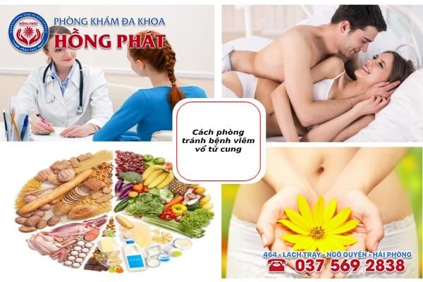 Chia sẻ các phòng tránh bệnh viêm cổ tử cung