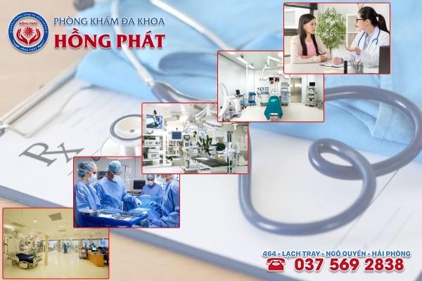 Đa khoa Hồng Phát là phòng khám điều trị bệnh viêm nội mạc tử cung chất lượng và chuyên nghiệp