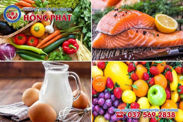 Những loại thực phẩm hỗ trợ cải thiện bệnh viêm nội mạc tử cung