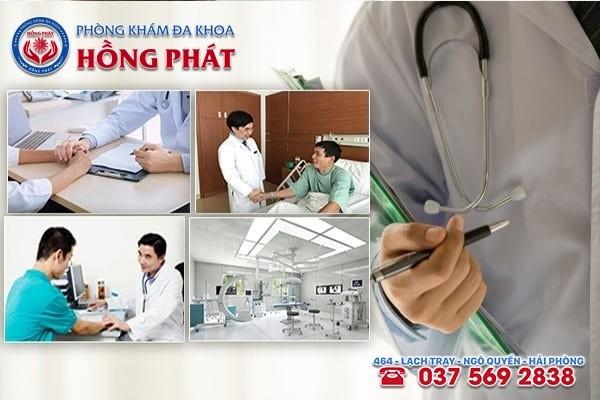 Phòng Khám Hồng Phát - địa chỉ khám chữa trị bệnh viêm tuyến tiền liệt ở Quảng Ninh tốt nhất