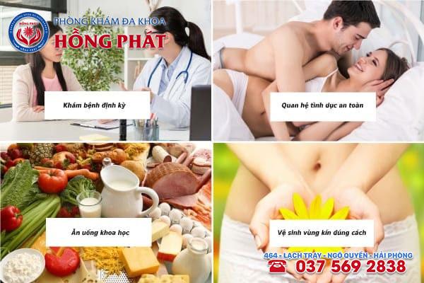 Các cách phòng tránh bệnh viêm vùng chậu