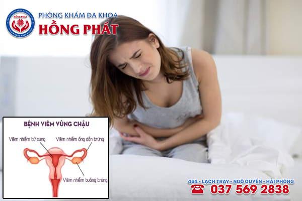 Bệnh viêm vùng chậu gây ra nhiều biến chứng ảnh hưởng đến sức khoẻ sinh sản của nữ giới