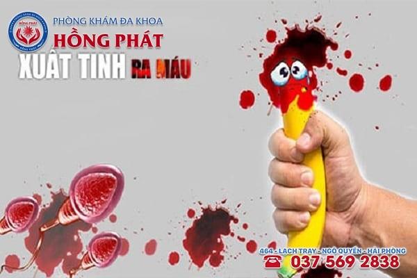 Xuất tính ra máu, căn bệnh thường gặp ở nam giới hiện nay