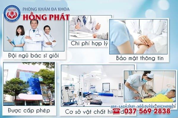 Phòng Khám Hồng Phát - Địa chỉ điều trị da bao quy đầu bị sưng an toàn hiệu quả