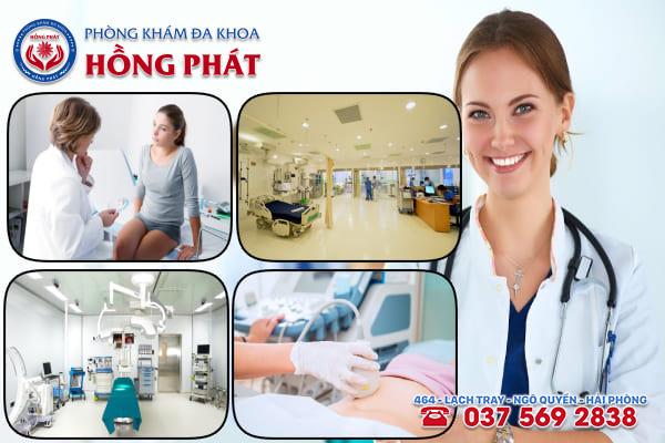 Phòng khám Hồng Phát là địa chỉ đặt vòng tránh thai uy tín