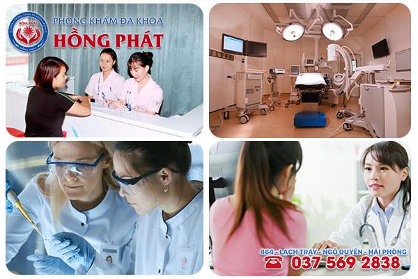 Phòng Khám Hồng Phát - Địa chỉ khám chữa bệnh viêm bàng quang nữ giới tốt nhất