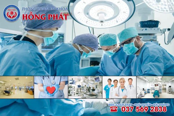 Đa khoa Hồng Phát là phòng khám điều trị bệnh sa tử cung an toàn và chuyên nghiệp