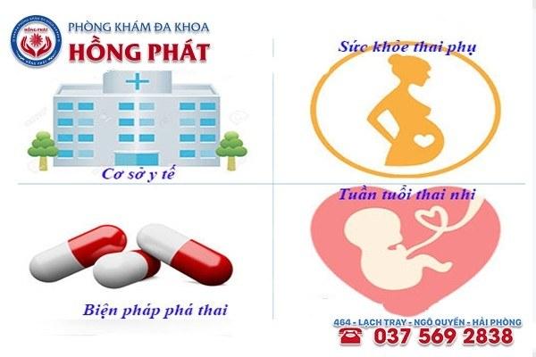 Chi phí phá thai ảnh hưởng bởi nhiều yếu tố khác nhau