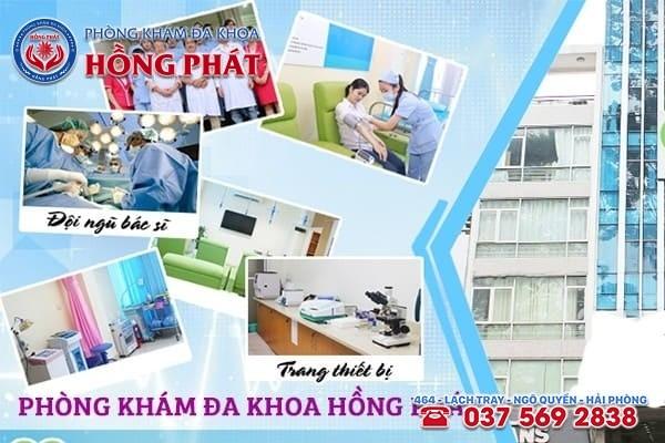 Đa Khoa Hồng Phát - Địa chỉ chữa bệnh lậu ở Quảng Ninh uy tín