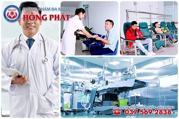 Địa chỉ chữa bệnh nam khoa uy tín ở TP Hải Phòng