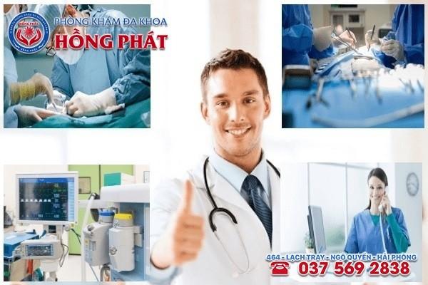 Phòng khám Hồng Phát - Địa chỉ chữa bệnh viêm buồng trứng an toàn và chất lượng