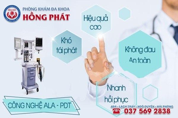 Hỗ trợ điều trị sùi mào gà bằng phương pháp ALA - PDT hiệu quả, an toàn