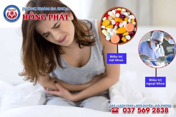 Dựa vào nguyên nhân gây đau bụng kinh chuyên gia sẽ áp dụng liệu pháp điều trị phù hợp