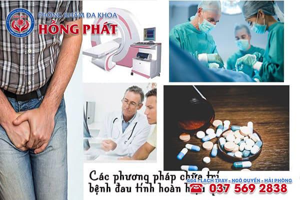 Những phương pháp chữa đau tinh hoàn hiệu quả nên áp dụng