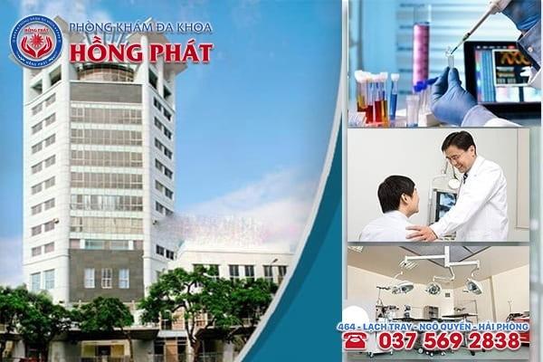 Phòng Khám Hồng Phát - Địa chỉ chữa trị bệnh giang mai ở Quảng Ninh uy tín được nhiều người lựa chọn