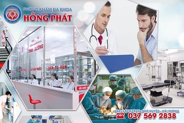 Phòng Khám Đa Khoa Hồng Phát - Địa chỉ chữa trị bệnh rối loạn cương dương ở Quảng Ninh an toàn