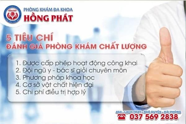 Tiêu chí đánh giá địa chỉ chữa trị bệnh viêm bàng quang ở Quảng Ninh uy tín