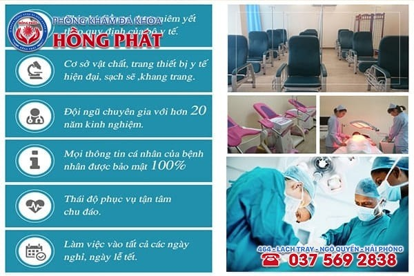 Phòng Khám Hồng Phát - Địa chỉ chữa trị bệnh viêm bàng quang ở Quảng Ninh an toàn
