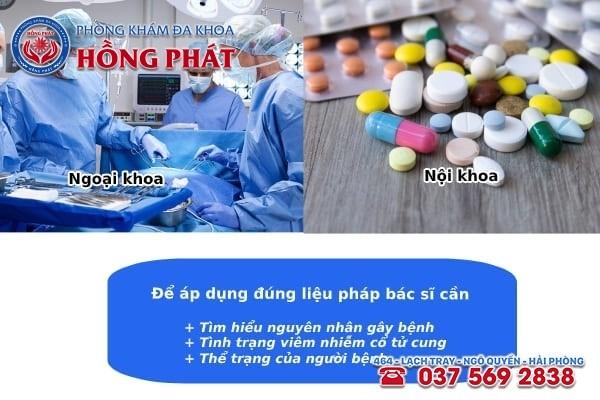 Phương pháp điều trị bệnh viêm cổ tử cung