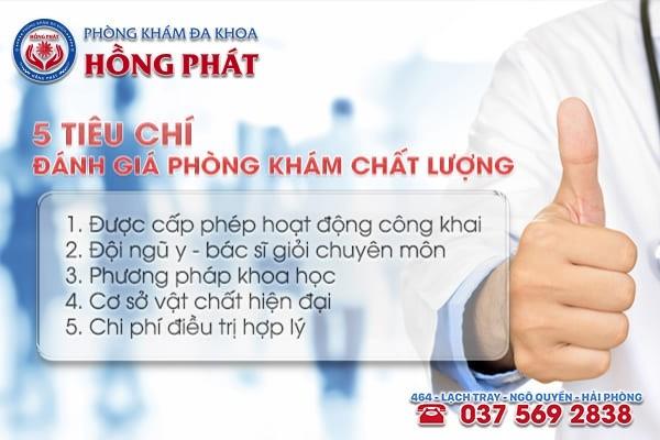 Tiêu chí lựa chọn địa chỉ chữa trị bệnh viêm đường tiết niệu ở Quảng Ninh
