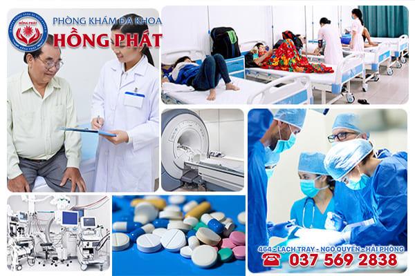 Phòng Khám Hồng Phát - Địa chỉ chữa trị bệnh viêm tuyến tiền liệt ở Hải Phòng tốt nhất
