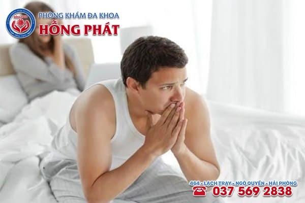Xuất tinh ngược khiến đời sống tinh dục giảm và thậm chí gây vô sinh