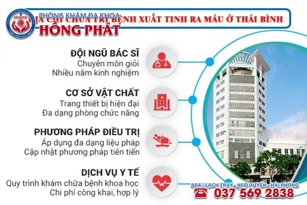 Địa chỉ chữa trị bệnh xuất tinh ra máu an toàn ở Quảng Ninh
