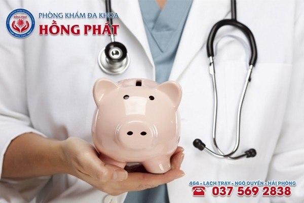 Tiết kiệm được chi phí khám chữa bệnh mụn rộp sinh dục
