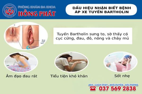 Điều trị áp xe tuyến Bartholin hiệu quả tại Đa khoa Hồng Phát
