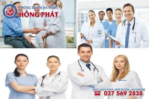 Đa Khoa Hồng Phát có đội ngũ y bác sĩ tư vấn nhiệt tình và chuyên nghiệp