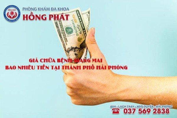Giá chữa bệnh giang mai bao nhiêu tiền tại Thành Phố Hải Phòng