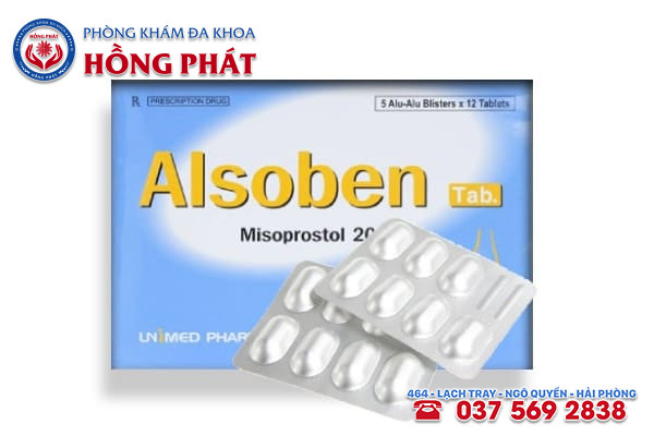Thuốc Albosen phối hợp thuốc Mifepristone để phá thai