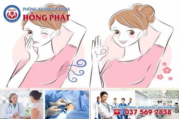 Phòng Khám Hồng Phát - Địa chỉ khám chữa bệnh hôi nách an toàn, hiệu quả