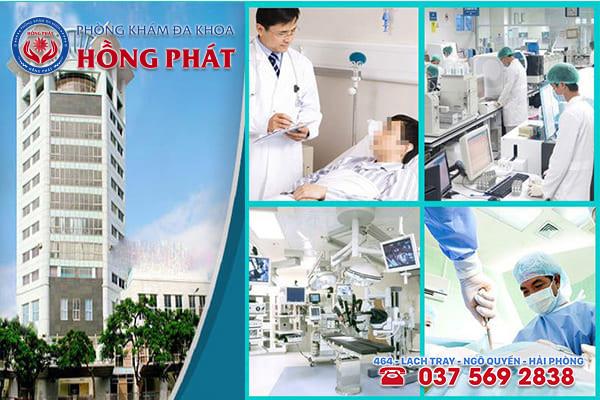 Phòng Khám Hồng Phát - Địa chỉ khám chữa bệnh viêm bàng quang tốt nhất tại Hải Phòng