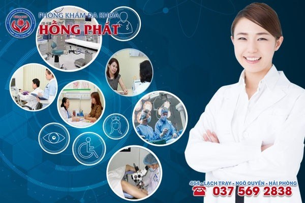 Phòng Khám Đa Khoa Hồng Phát - Đơn vị y tế chuyên khoa uy tín trong thăm khám thai sản