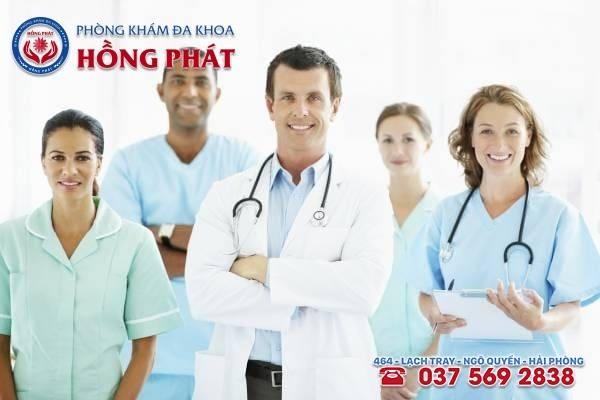 Đội ngũ y - bác sĩ có nhiều năm kinh nghiệm