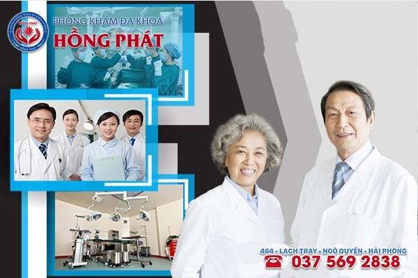 Phòng Khám Hồng Phát - Địa chỉ chữa đau tinh hoàn và bụng dưới hiệu quả, uy tín