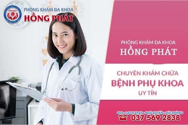 Đa Khoa Hồng Phát chuyên điều trị phì đại cổ tử cung an toàn