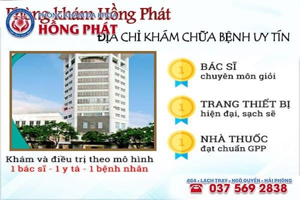 Khẳng định Phòng Khám Hồng Phát hoạt động uy tín - chất lượng