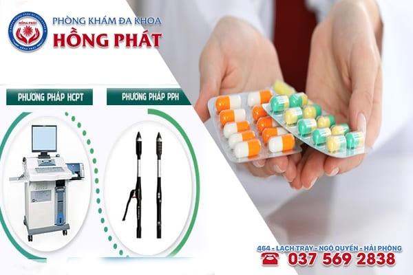 Phương pháp điều trị bệnh trĩ tại Phòng khám Hồng Phát Hải Phòng