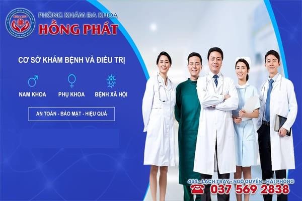 Phòng Khám Hồng Phát có nhiều chuyên khoa khám chữa bệnh