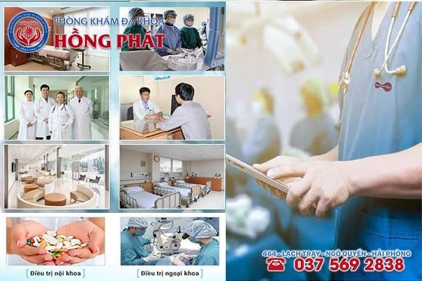 Phòng khám Hồng Phát Hải Phòng - Nơi gửi gắm sức khỏe của mọi người