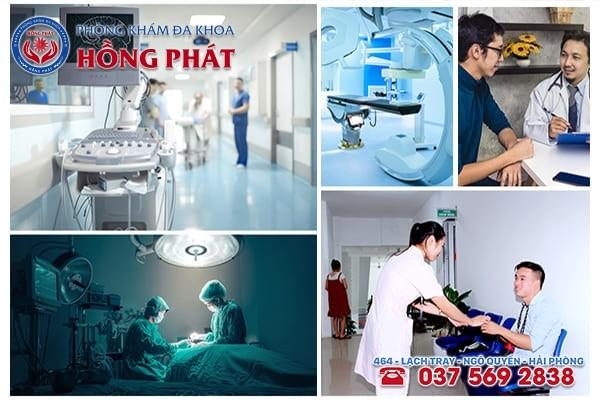 Phòng khám nam khoa Hồng Phát Hải Phòng uy tín chất lượng