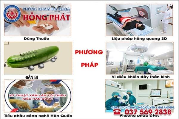 Các phương pháp điều trị bệnh nam khoa hiệu quả tại Phòng Khám Hồng Phát