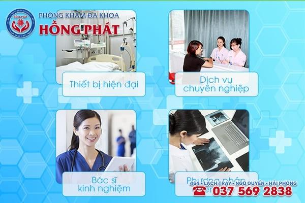 Phòng khám phụ khoa Hồng Phát - Địa chỉ khám bệnh uy tín ở Hải Phòng