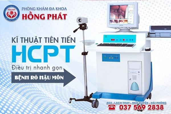 Phòng Khám áp dụng phương pháp HCPT cải tiến mới vào điều trị bệnh rò hậu môn