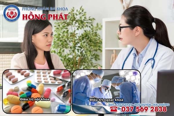 Dựa  vào nguyên nhân gây rối loạn kinh nguyệt mà chuyên gia y tế đưa ra phương pháp điều trị thích hợp