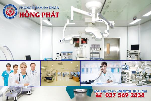 Đa khoa Hồng Phát là phòng khám chữa trị bệnh sa tử cung tốt nhất tại Hải Phòng