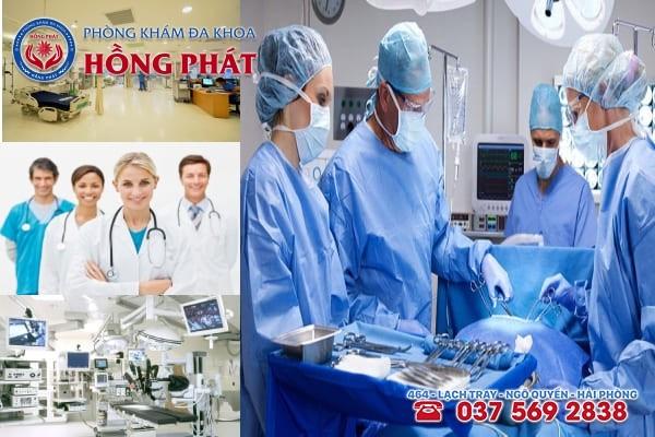 Đa khoa Hồng Phát là địa chỉ chữa trị bệnh phụ khoa an toàn và chuyên nghiệp