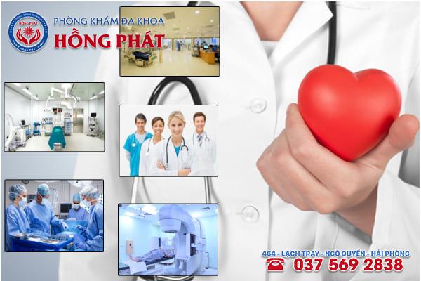 Phòng khám Hồng Phát là địa chỉ chữa trị bệnh viêm vùng chậu tốt nhất tại Hải Phòng